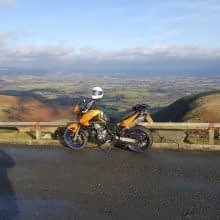 Motorbike rides in Wales (mostly)
