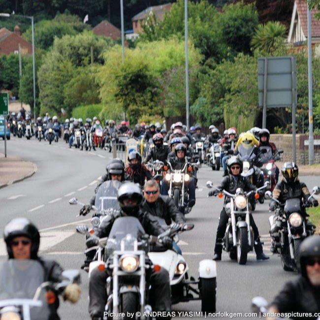 Motorcycle Cavalcade & Carnival Show
