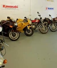 Biker Howff Motorcycle Storage