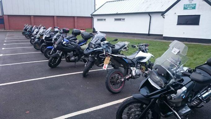 1st Class Rider Training